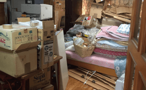 【1LDK】手が付けられないようなお部屋の整理もお任せください【76,000円】の施工前