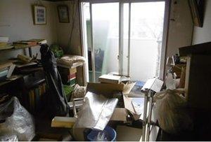 東京都板橋区:遺品整理の施工前