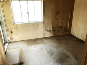 【2Kアパートの場合】 遺品整理(軽特殊清掃含む)の施工後