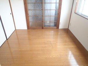 【2DKのマンションの場合】遺品整理(軽特殊清掃含む)の施工後