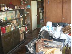 認知症だったお父様のお部屋を整理しましたの施工前