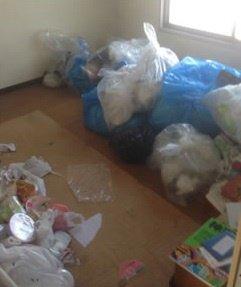 ゴミ屋敷清掃1の施工前