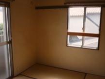 一軒家の家財整理(居室)の施工後