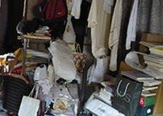 遺品整理(家具・衣類・書籍)の施工前