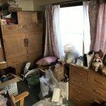 お人形は海外向けにリユース致しました(札幌市)の施工前