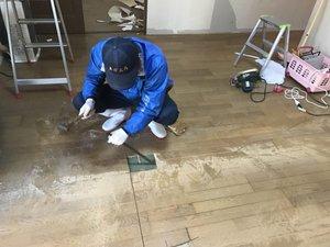 孤独死現場の特殊清掃のつづきの施工後