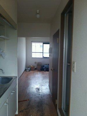 大阪市吹田市:3階のゴミ屋敷清掃の施工後