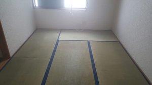 孤独死現場の特殊清掃、残置搬出作業の施工後