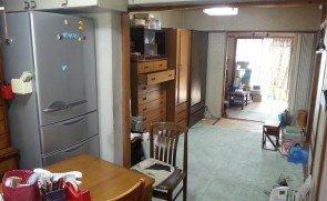 【8LDK】大阪市東淀川区での遺品整理:240,000円の施工前