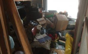 【4LDK】東大阪市でのゴミ屋敷清掃:115,000円の施工前
