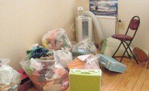 【3LDK】大阪市福島区でのゴミ屋敷清掃:107,000円の施工前