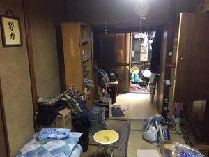 【3DK】八尾市での遺品整理:64,000円の施工前