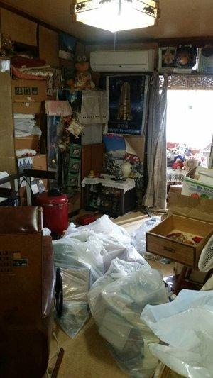 【4DK】堺市堺区での遺品整理:78,000円の施工前