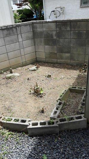 空き家のお庭片付け・家財整理の施工後