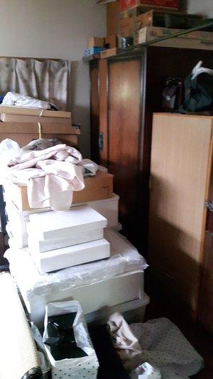 売却予定のお家の遺品整理の施工前