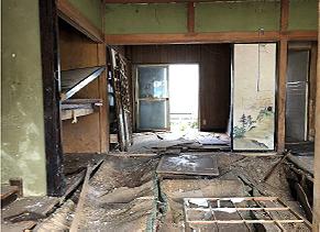 家の売買に伴う残置物撤去作業②の施工後