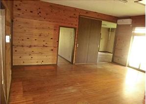 家の売買に伴う残置物撤去作業の施工後