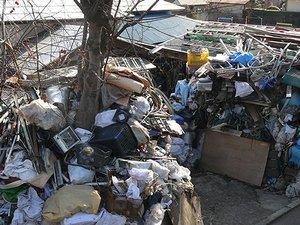 海老名市 ゴミ屋敷片付けの施工前