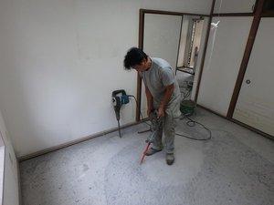 孤独死現場の特殊清掃・リフォームの施工前