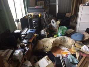 不動産会社様からのご依頼:残置物撤去の施工前