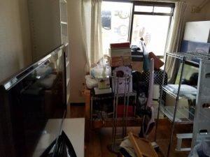 一人暮らしを開始される方の引っ越しに伴う片付けの施工前