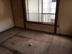 大田区:事故現場の片付けの施工後