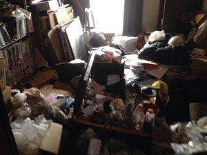 大田区:特殊清掃と遺品整理の施工前