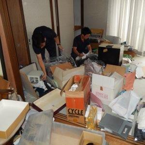 遺品整理 渋谷区【275,000円】の施工前