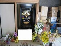 お仏壇の撤去と処分の施工前