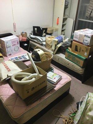 佐倉市:遺品整理の施工前