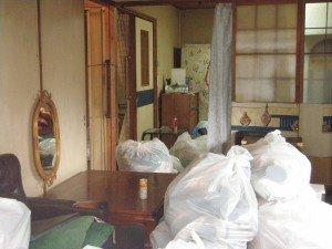 奈良県北葛城郡上牧町 遺品整理の施工前