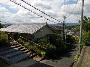大阪府大東市 空き家片付け・解体の施工前