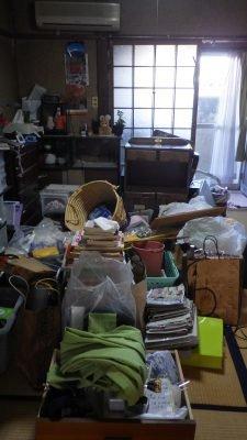 東大阪市 遺品整理の施工前