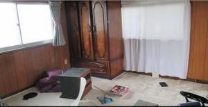 遺品整理:寝室の施工前
