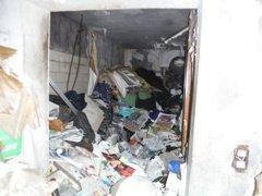 ゴミ屋敷清掃例の施工前