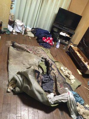 横浜市 特殊清掃の施工前