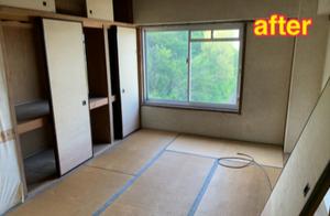 お引っ越しに向けた生前整理(東京都)の施工後