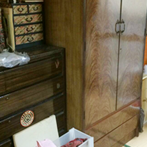 戸建ての遺品整理【170,000円】の施工前
