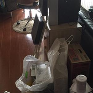 多数の高額な家具を買い取りました:一軒家【190,000円】の施工前