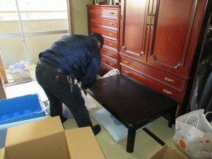 【2DK】市営住宅の遺品整理の施工前