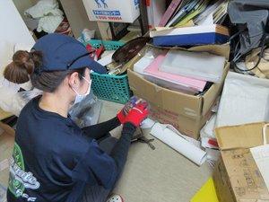 【4LDK】家財・雑貨の買取も含めた遺品整理の施工前