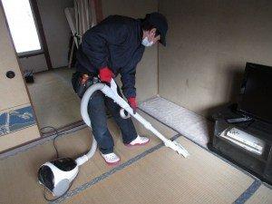 戸建ての家財整理の施工後