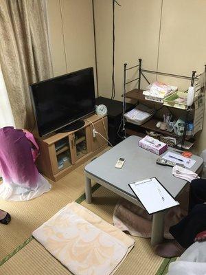 【2K】栃木県宇都宮市での生前整理の施工前