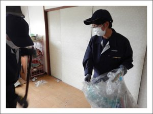 【1LDK】ゴミ部屋の片付け(山形市)の施工後
