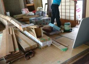大きなお部屋の家財整理でした(滋賀)の施工前