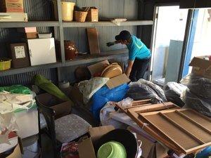 倉庫整理、家財撤去 (京都)の施工前