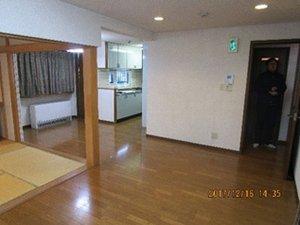 遺品整理:札幌市白石区の施工後