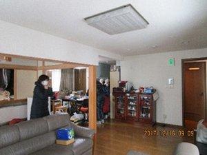 遺品整理:札幌市白石区の施工前