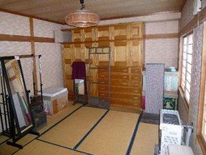 遺品整理:札幌市白石区の事例つづきの施工前