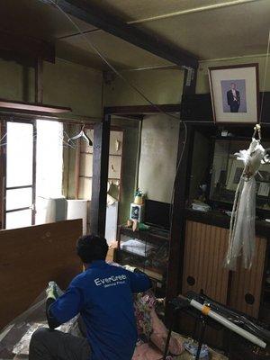 築100年の歴史あるご自宅の整理の施工後